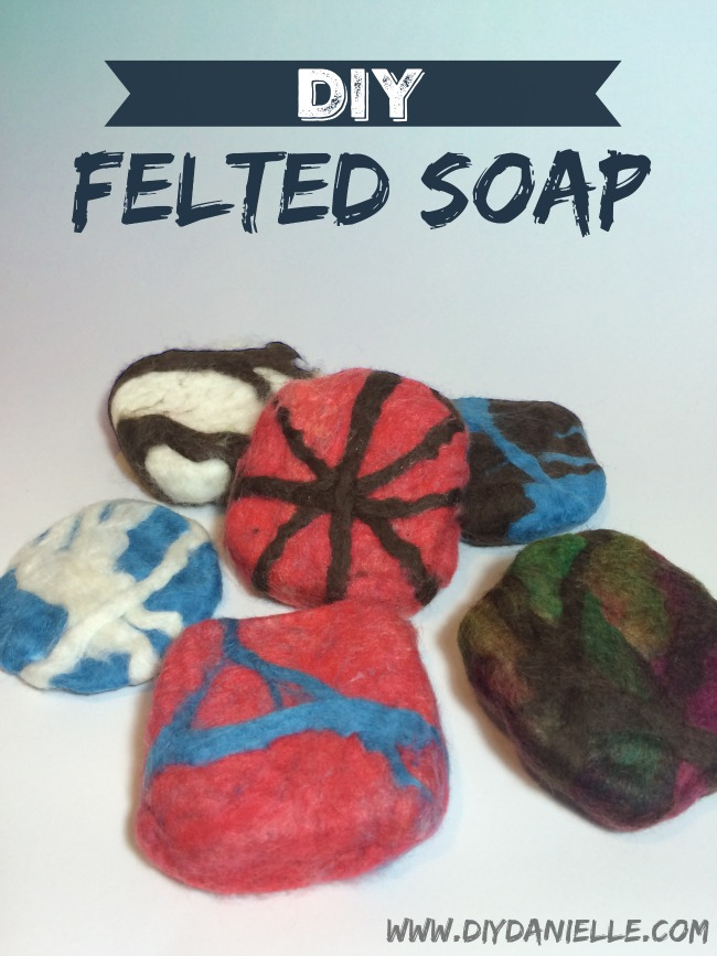 How to make your own felted soap.
