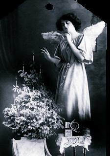 Vintage Angel Hangtag