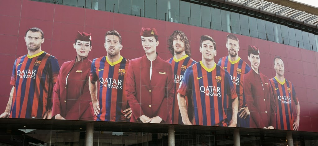 Camp Nou Barcelona Qatar