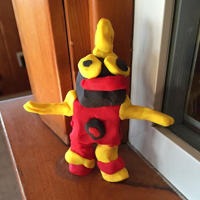 Porter's Clay Robot