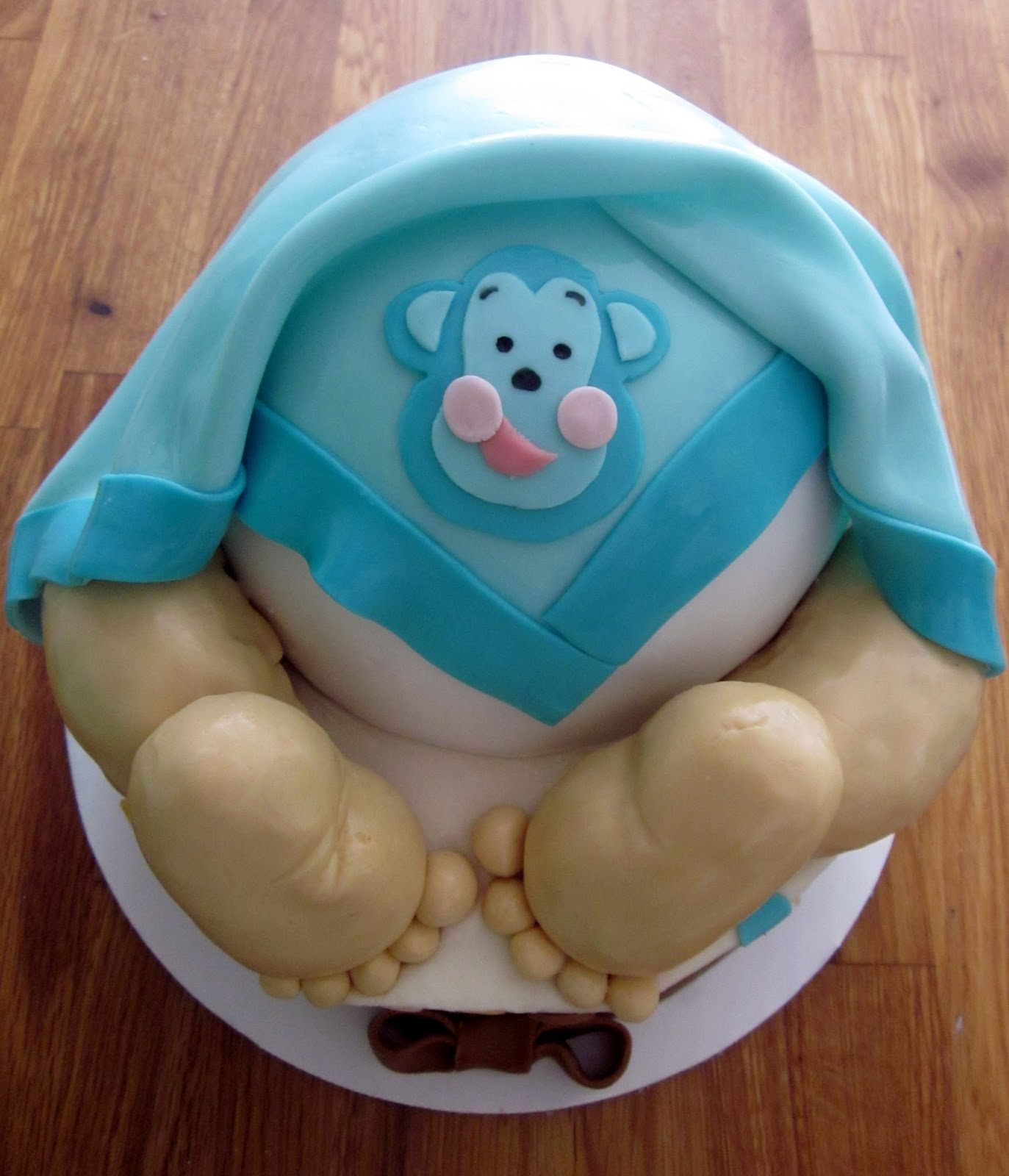 Baby Bum Cake Images : Darlin  Designs: Baby Bum Cake and matching cookies