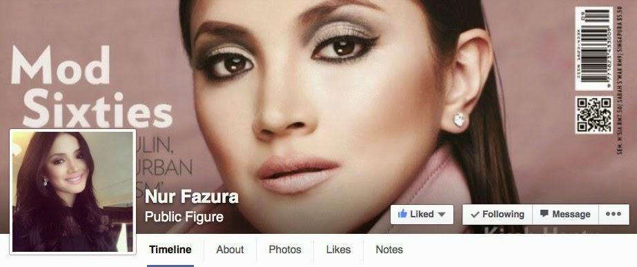 Akaun Facebook Fazura Digodam Kongsi Gambar Lucah