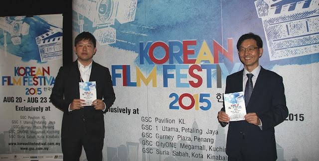 Seo Ki Won Minister Yoon Chang Yul korea embassy malaysia korean film festival 2015