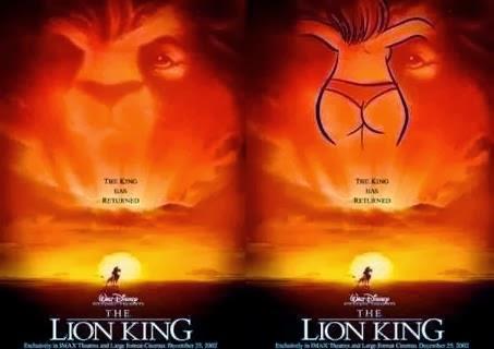 La verdadera Historia de la Sirenita King-lion-poster-subliminal