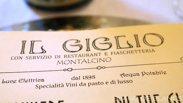 Il Giglio, Montalcino - www.blancdeblancs.fi