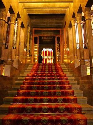 Staircase inside El Palau Güell