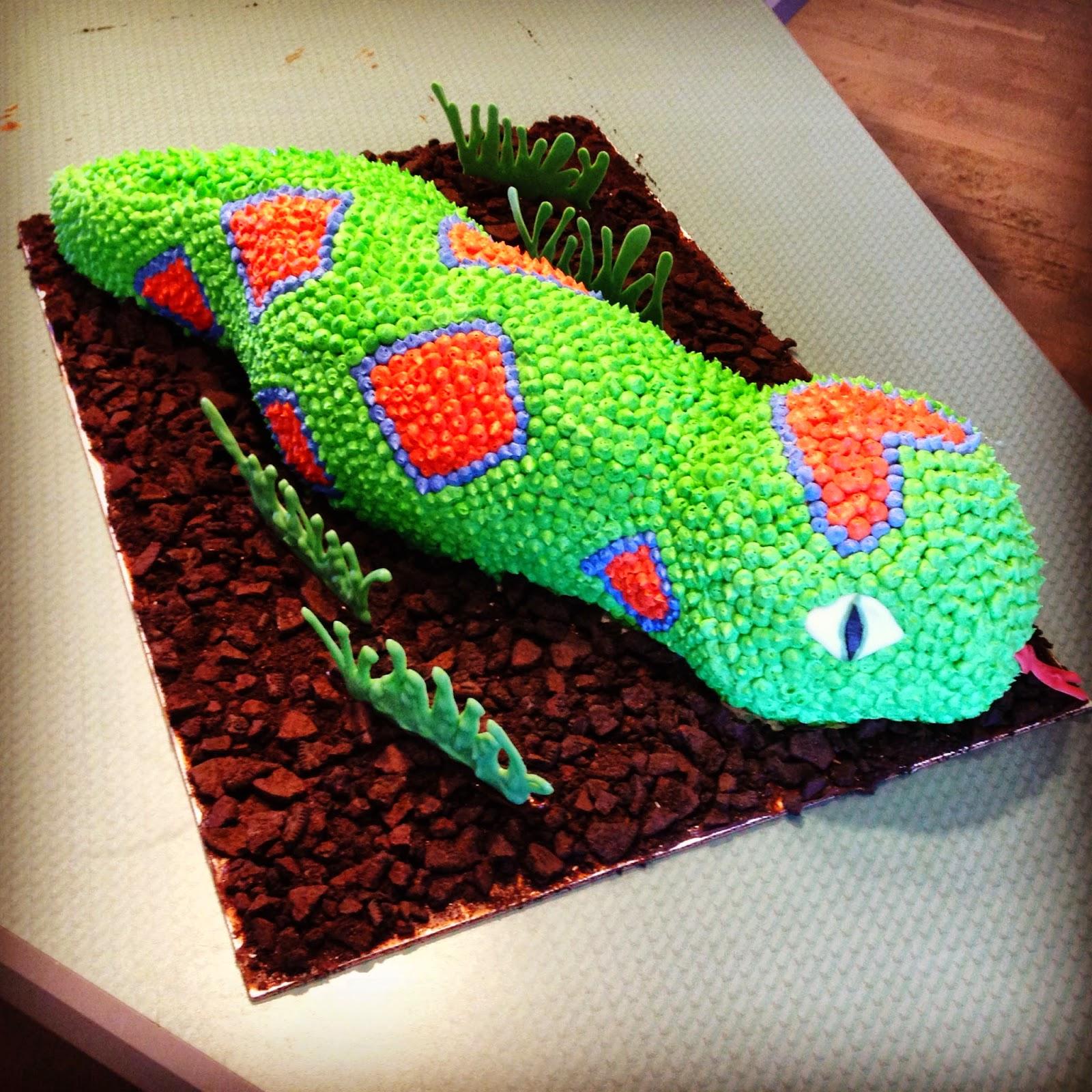 Snake Birthday Cake Jadore Gteau