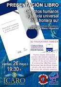 Presentación en Segovia libro y caravana Frontera Sur
