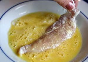 Fried Chicken with Coconut Meat - Gà Chiên Xù Vị Dừa