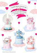 Love Theme Cakes