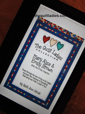 The Quilt Ladies on kindle and nook and only .99 cents
