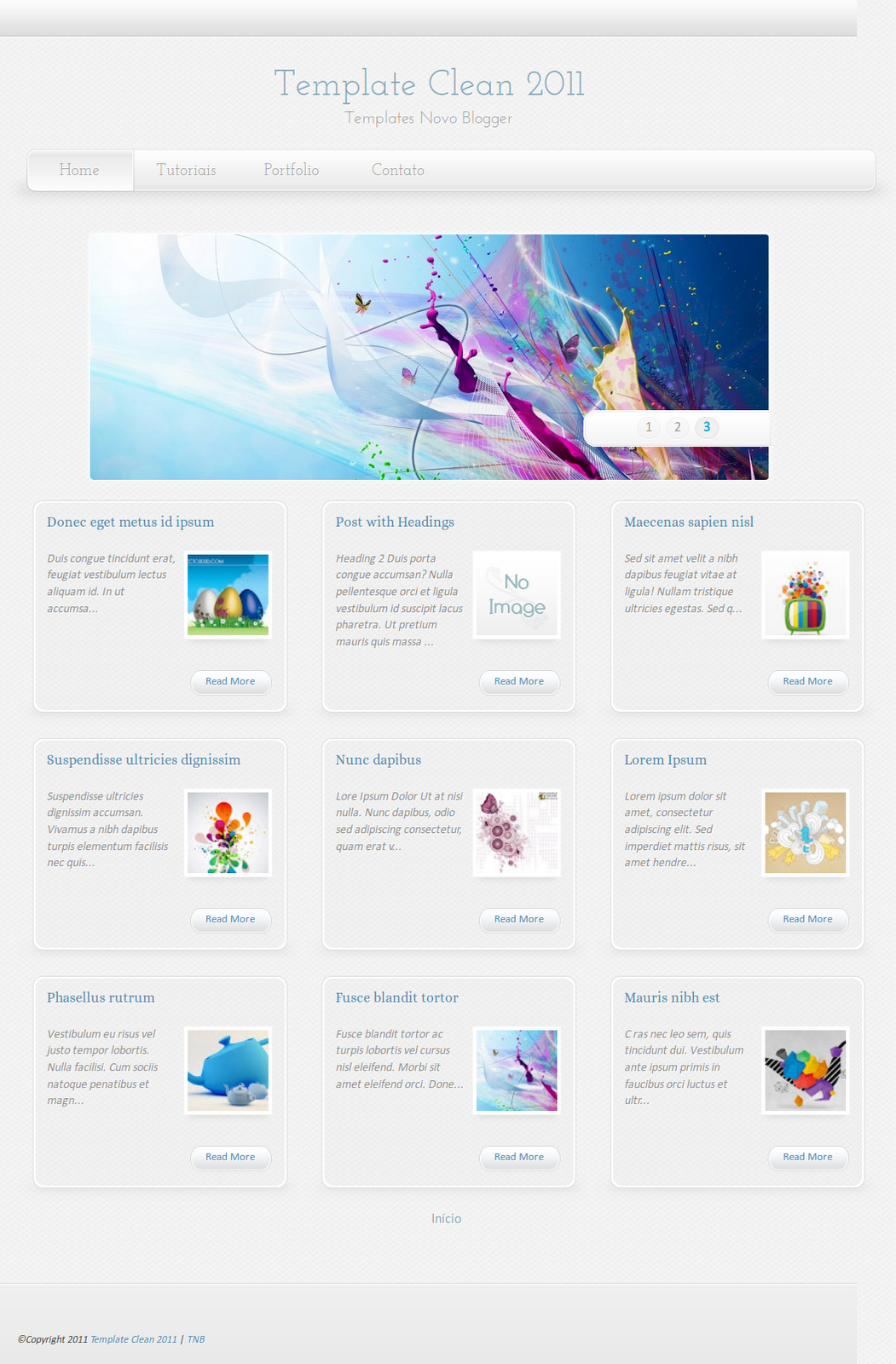 Blogger Buster: 30+ Free and Inspiring Blogger Templates