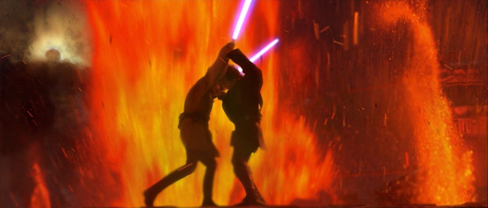 vader fights kenobi revenge of the sith