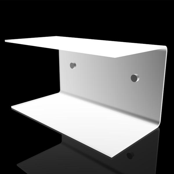 Designtrasparente consigli ed idee per arredare mensola in plexiglass per bagno trasparente - Mensole bagno plexiglass ...