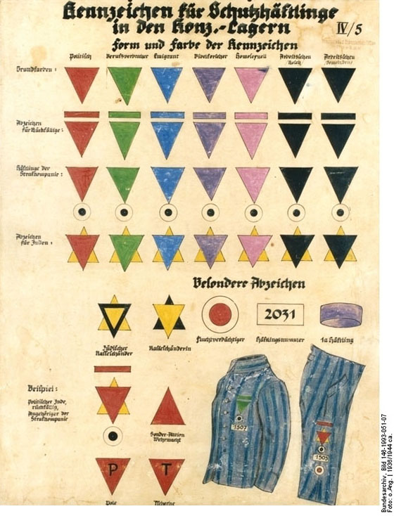 Heroines of the resistance concentration camp badges for A different world rule number one