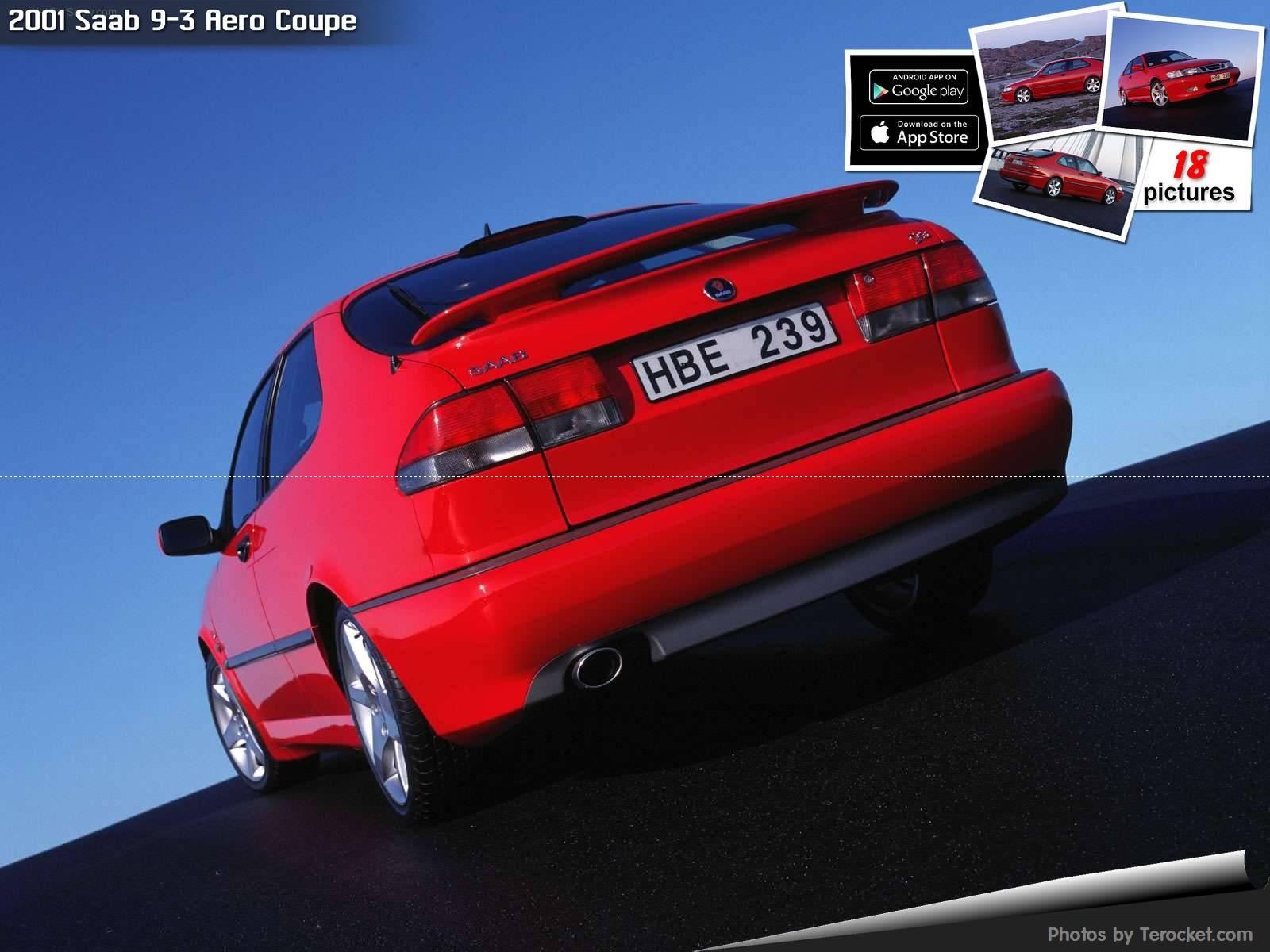 Hình ảnh xe ô tô Saab 9-3 Aero Coupe 2001 & nội ngoại thất
