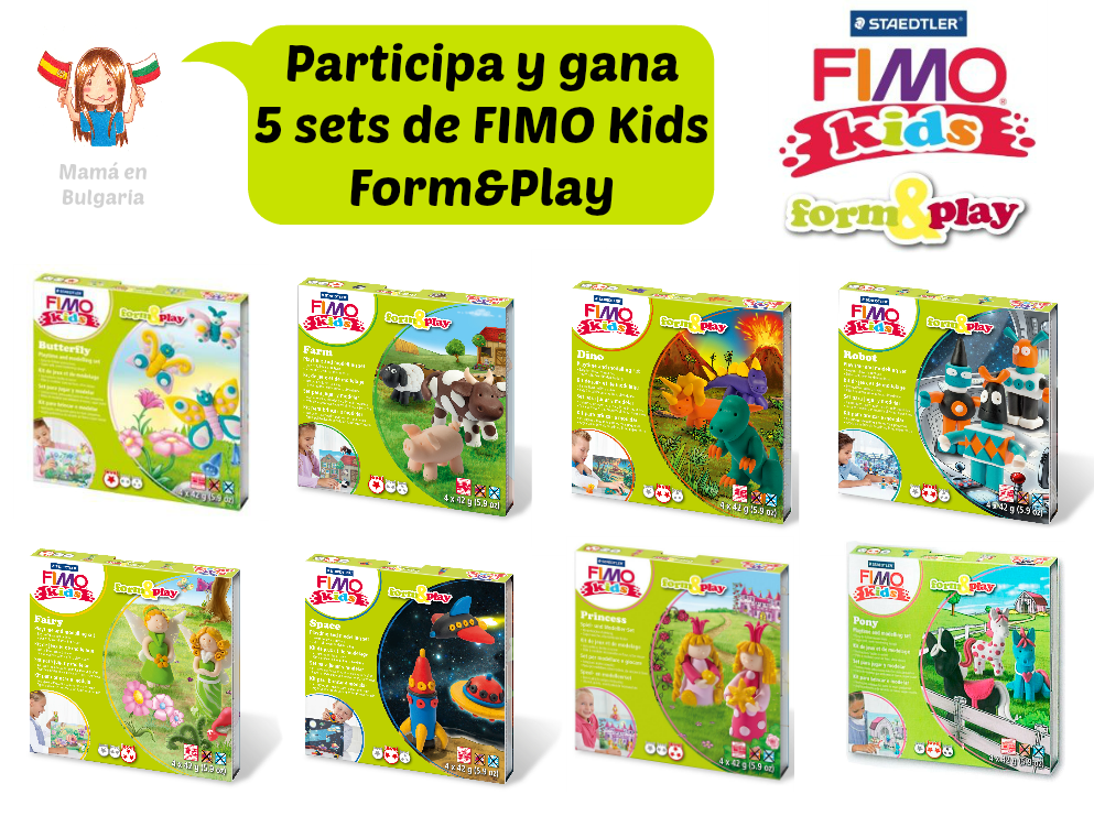 Sorteo 5 sets de Fimo Kids