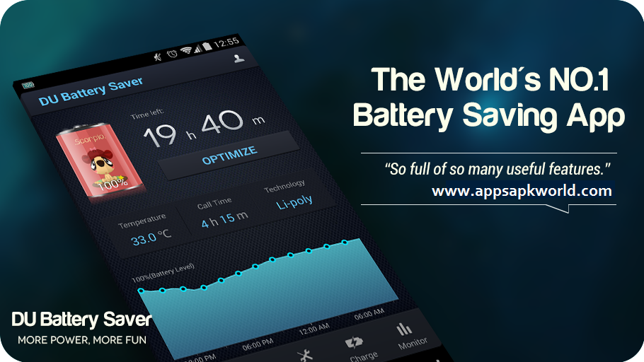 DU Battery Saver丨Power Doctor v3.9.9.3 Modded APK
