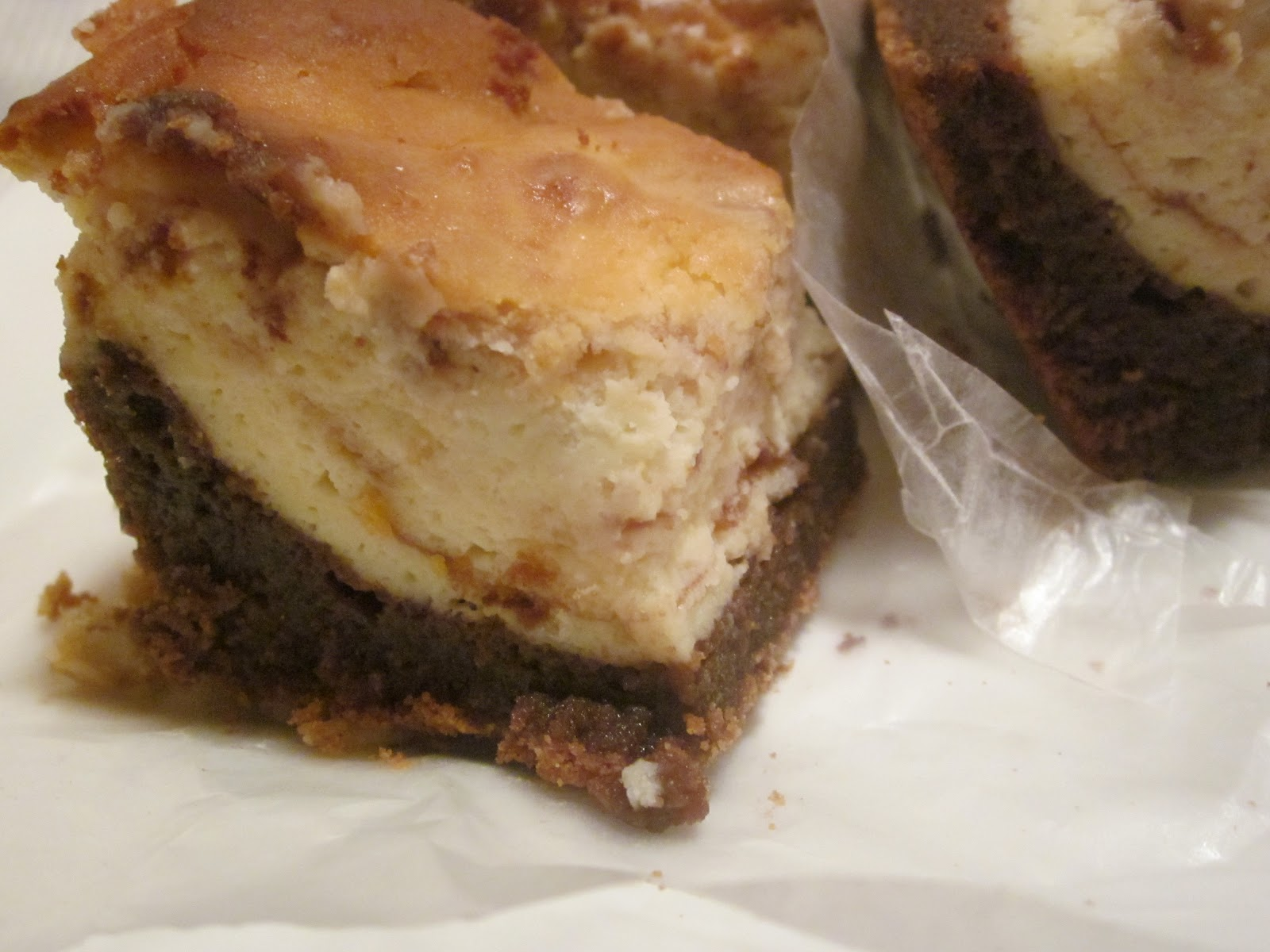 Heavenly Cheesecake Brownies