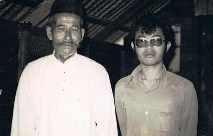 Tok Wan Piee bersama Cucu (Omar)