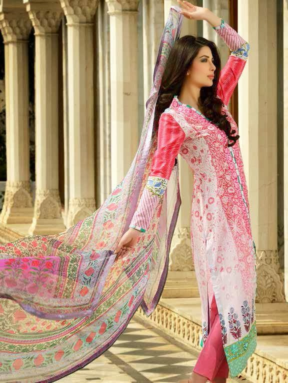 And Exclusive Summer Lawn Collection 2014 for Women By Sobia Nazir