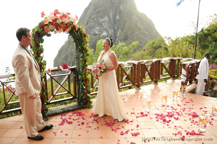 Weddings At The Ladera St Lucia Wedding Venues