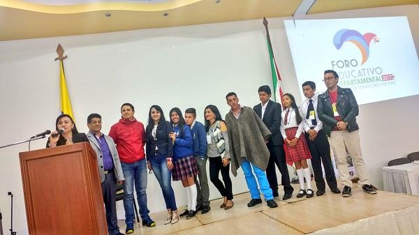 Con experiencia significativa, Chita representa a Boyacá en foro nacional