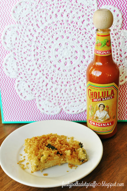 quinoa mac and cheese cholula