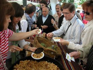 desgustacion gastronomica fiesta vendimia daimiel