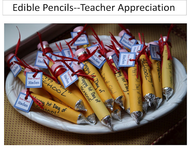 Подарки ученикам на 1 сентября своими руками
