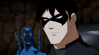Besouro Azul e Asa Norturna (Dick Grayson)