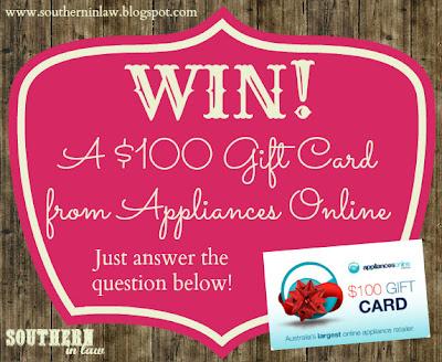 Australian Competitions - Win a $100 Appliances Online Giftcard