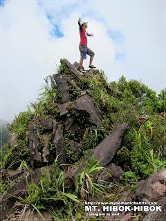 Climbing Mt. Hibok-Hibok