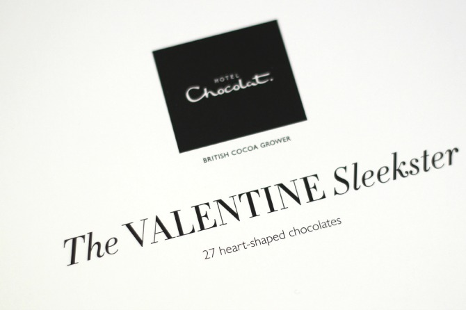 Hotel Chocolat  - The Valentines Sleekster box