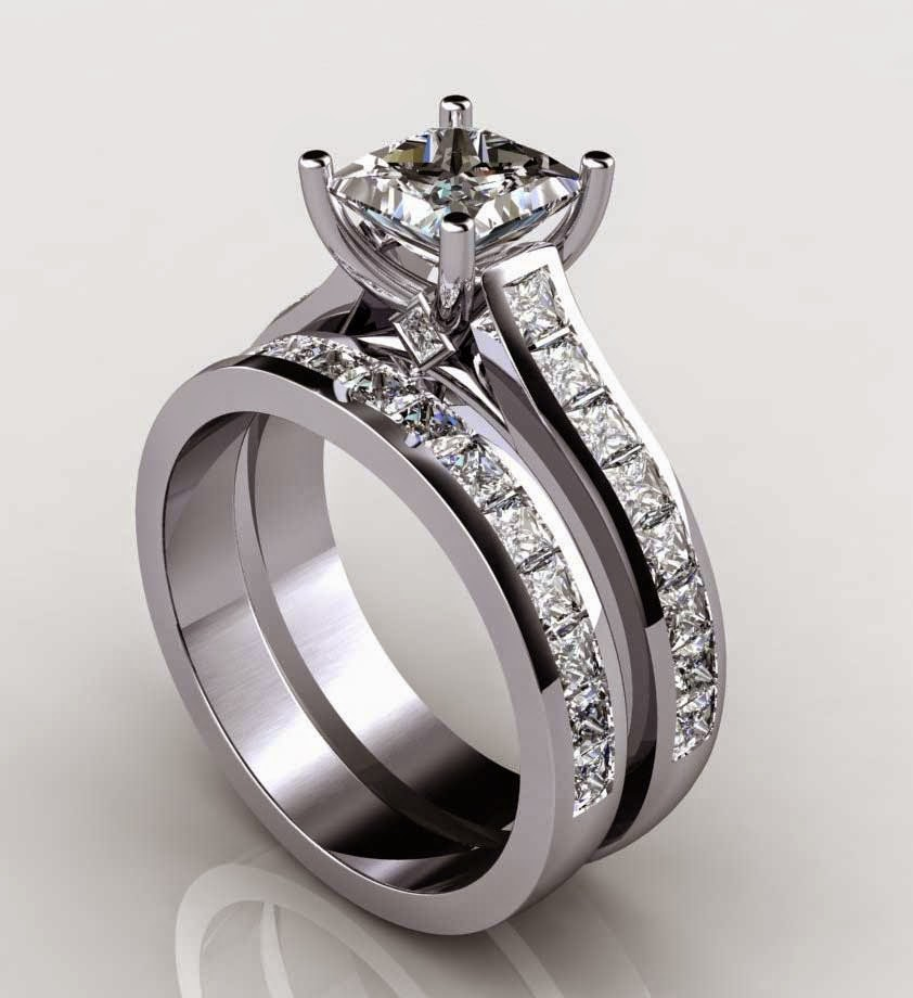 Matching Diamond Wedding Ring Sets UK Beautiful Design pictures hd