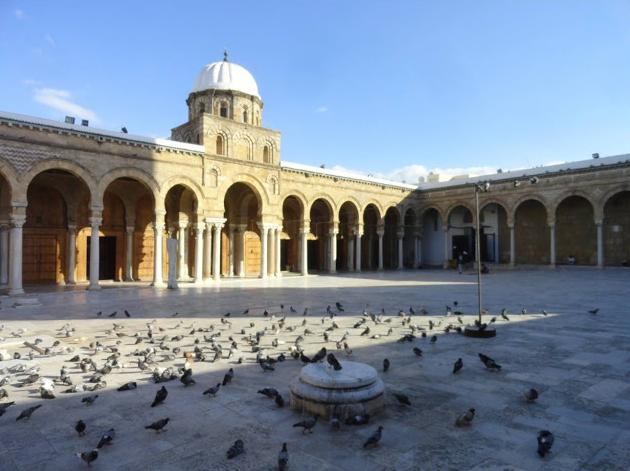 630 x 471 jpeg 278kB, Al zaytuna mosque tunis medina tunisia the ...