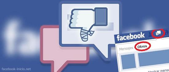 error diseño facebook en español