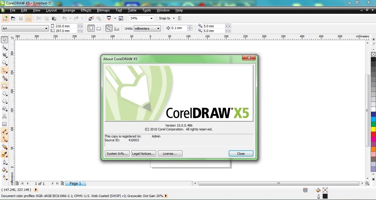 CorelDRAW Graphics Suite X5 Full Version