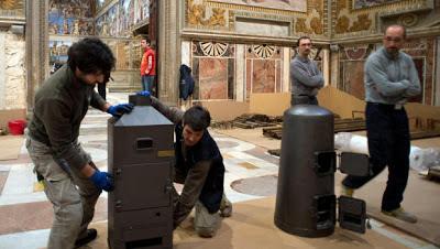 Conclave stoves Sala Regia