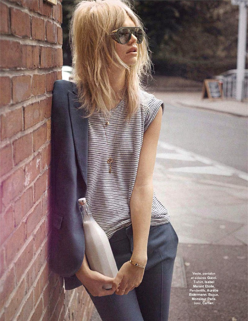 Carnaby Street: Nadine Leopold By Stefano Galuzzi For Glamour France September 2014