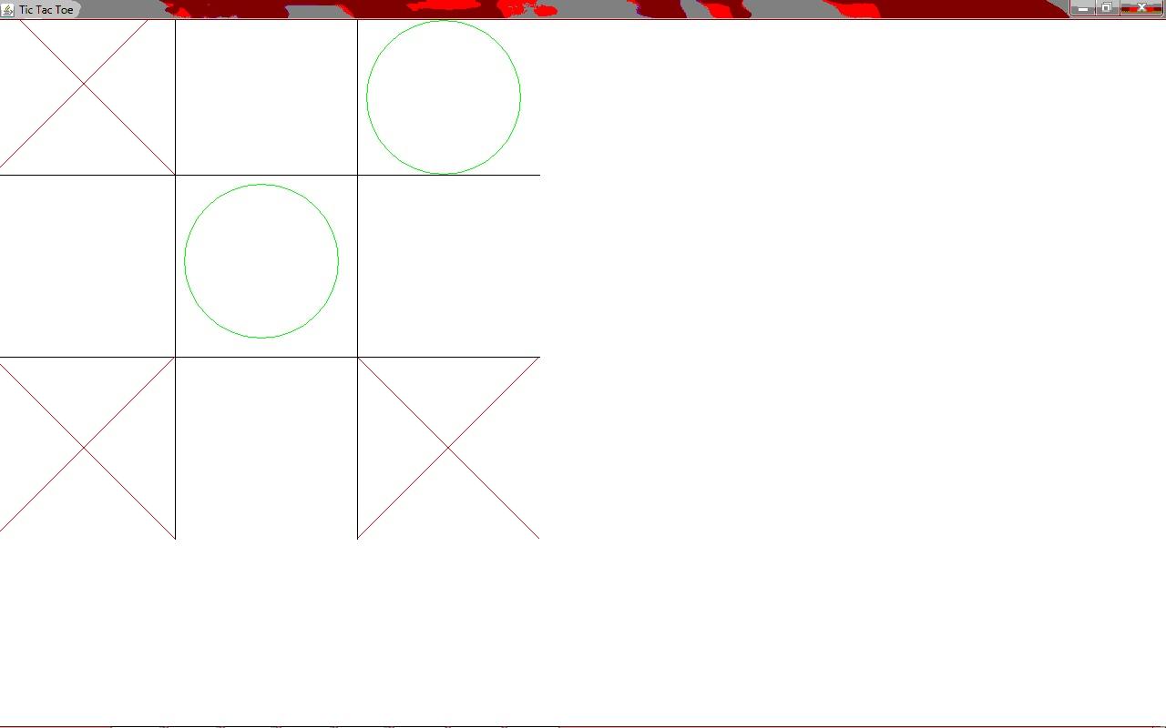 tic tac toe game java code output image