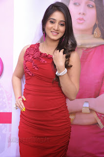Harshika Pooncha latest Pictures in red 007.jpg