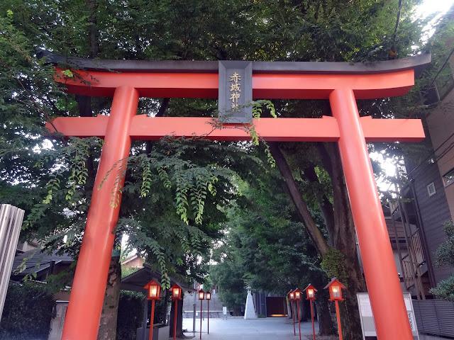 鳥居,赤城神社,神楽坂,東京〈著作権フリー無料画像〉Free Stock Photos