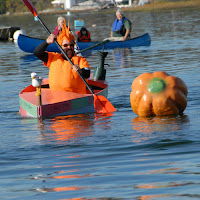 Todd Sandstrum_Damariscott Pumpkin Regatta_Pumpkin Boat_New England Fall Events