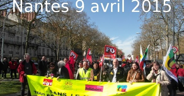 FO - Loire Atlantique: Grève du 9 avril : 150 000 à Paris