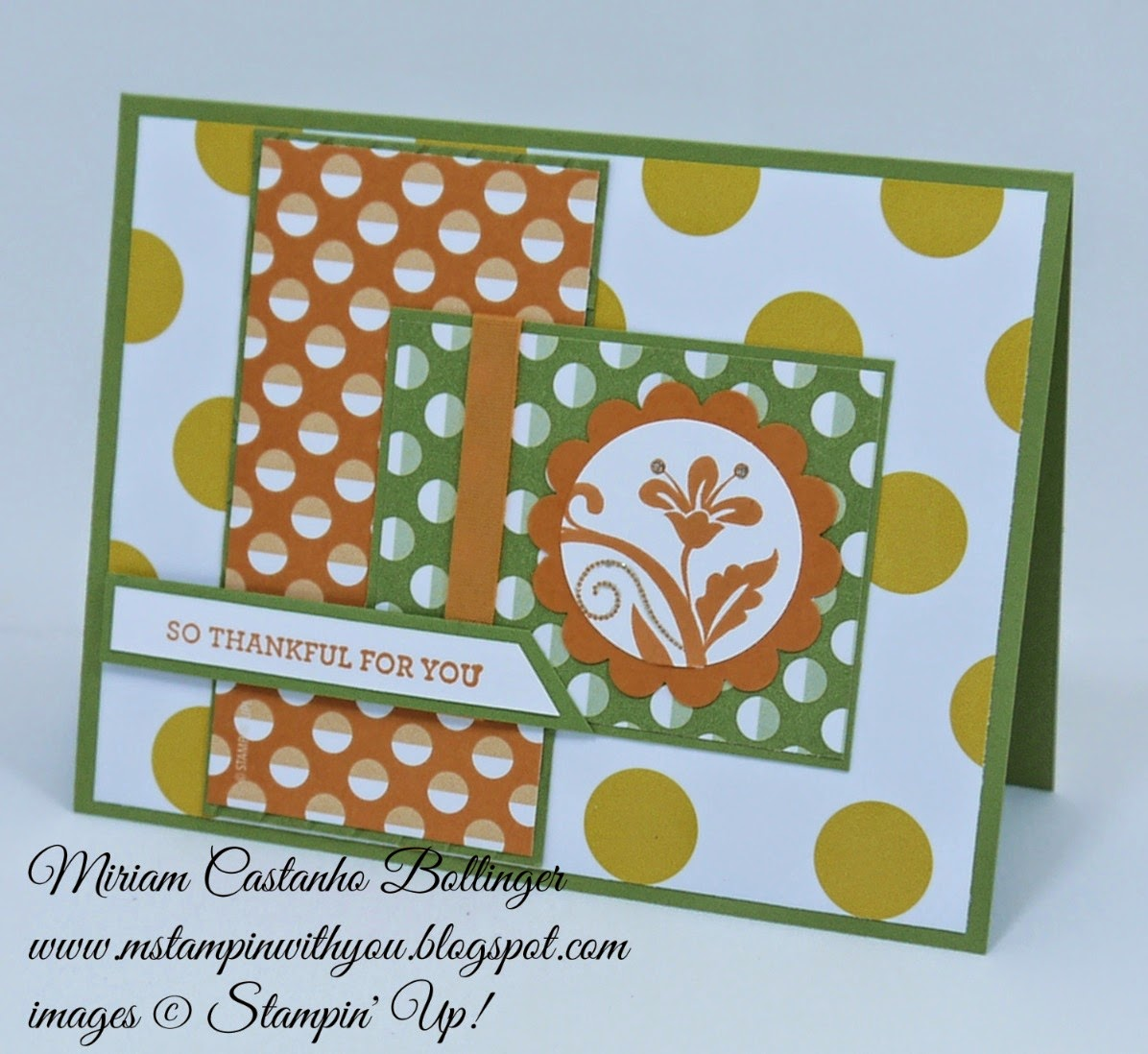 Miriam Castanho Bollinger, mstampinwithyou, stampin up, demosntrator, mm372, ppa227, flower pot dsp, sweet taffy dsp, flowering flourishes, I like you stamp set, scallop circle punch, su