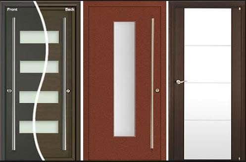 Model Pintu Rumah Minimalis 1