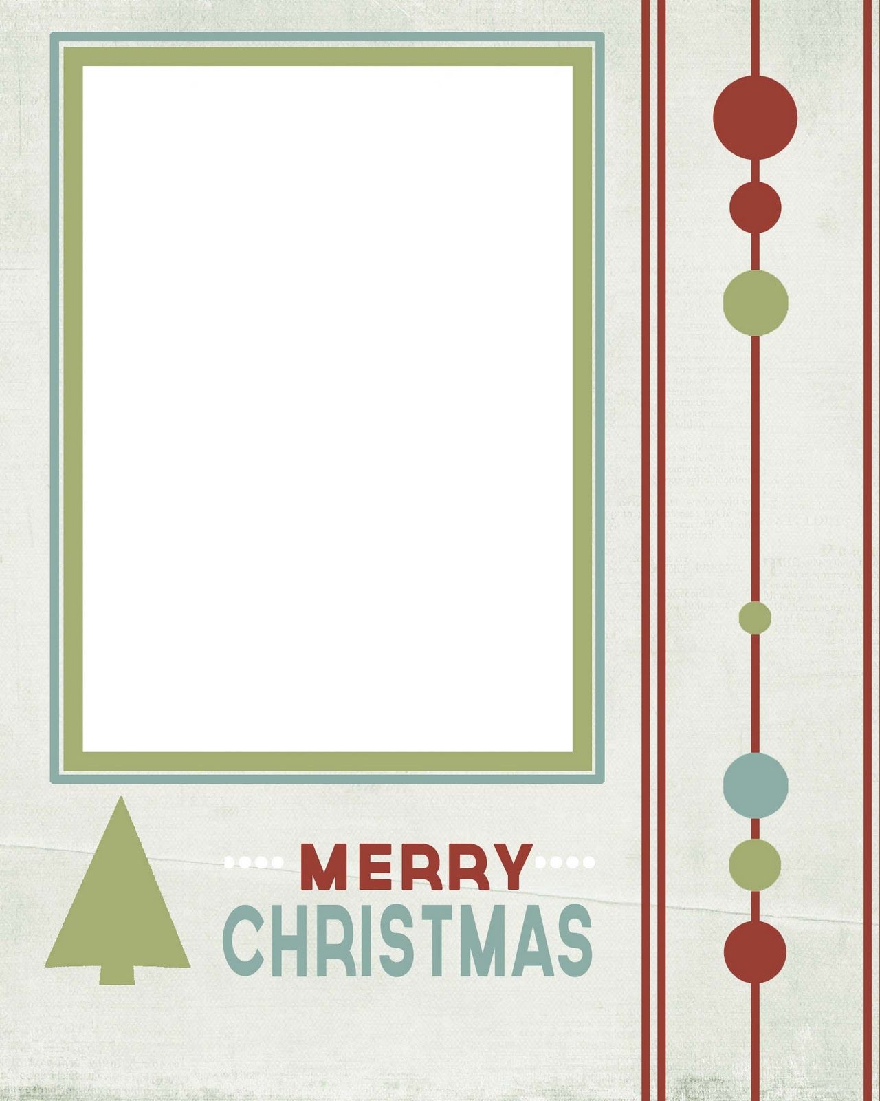Transformative image inside free printable christmas templates