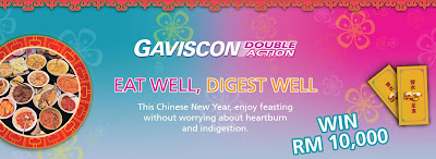 Gaviscon Eat Well, Digest Well Contest