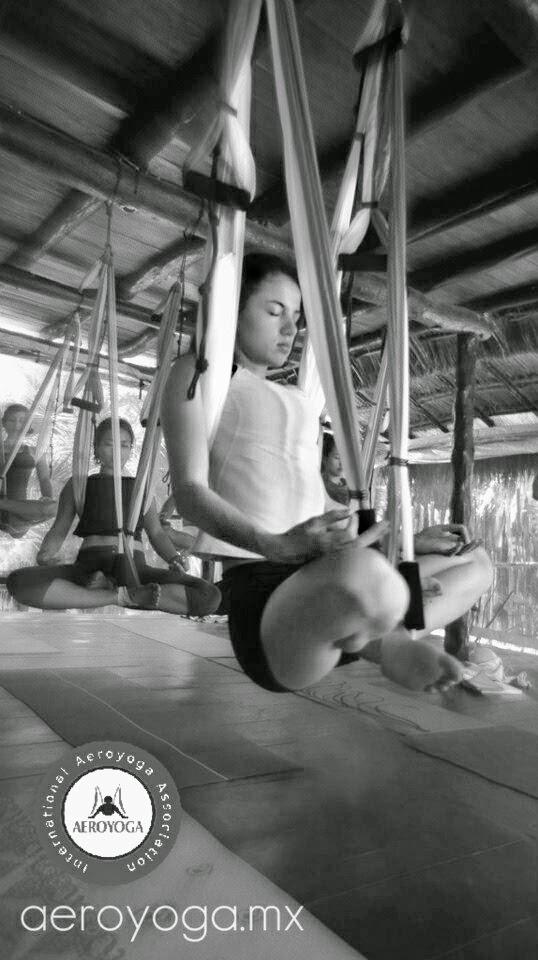 Pilates aereo Meditación